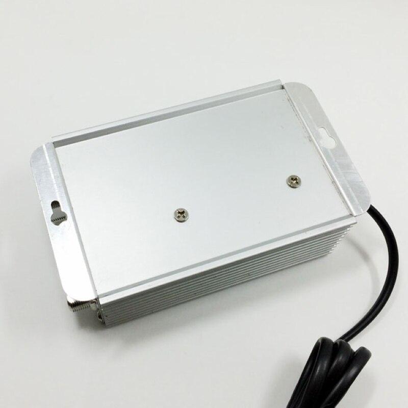 Adjustable 4 Way CATV VCR TV Antenna Signal Amplifier Booster Splitter 30dB 45 880MHz Digital TV Antenna Amplifier in TV Antenna from Consumer Electronics
