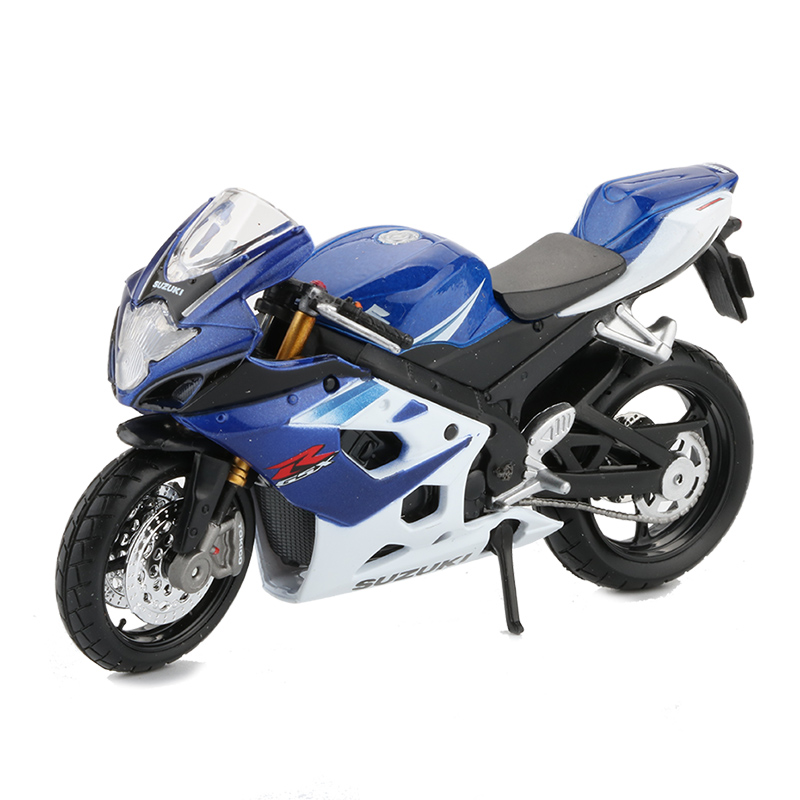 Maisto <font><b>1:18</b></font> Scale Motorcycle <font><b>Model</b></font> Toy Alloy Motor Bicycle GSX R1000 Racing <font><b>Car</b></font> <font><b>Models</b></font> Collection Toys For Boys Birthday Gift image