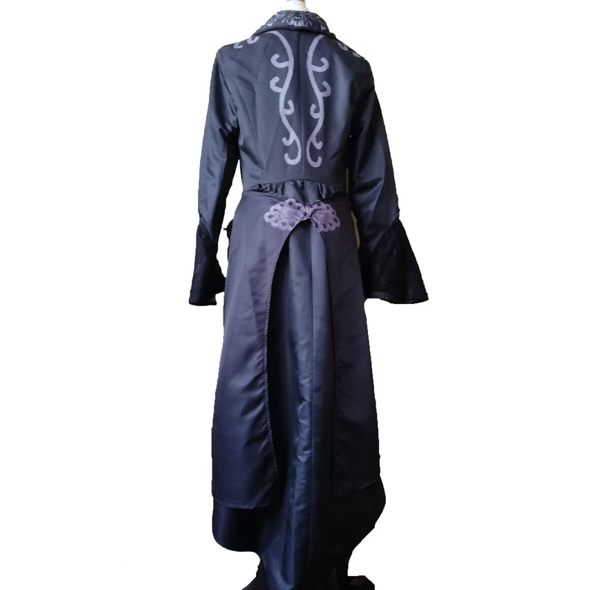 Medieval Costumes Women Retro Coat Onesies for Adults Queen Classical Suit Princess Long Gown Dress Female Cosplay Uniform