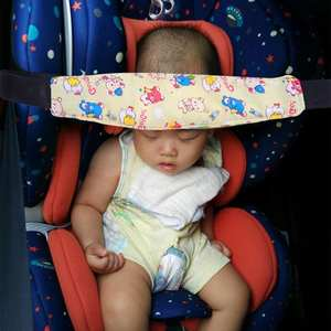 Belt Head-Support-Holder Elastic-Band Car-Seat Adjustable Baby New Kid Cotton Aid EASE