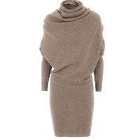 Women Swaeater Dress 2018 Winter Warm Black Autumn Casual Bodycon Camel Turtleneck Wool Blends Fashion Women Office Dress