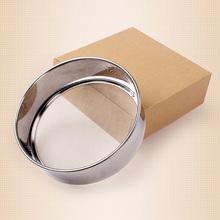 Stainless steel 304 tons 15 cm flour circular filter Durschlag extra kitchen pie.