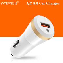 YWEWBJH 18W Car USB Charger Quick Charge 3.0  Phone Fast for iPhone Samsung Tablet Car-Charger