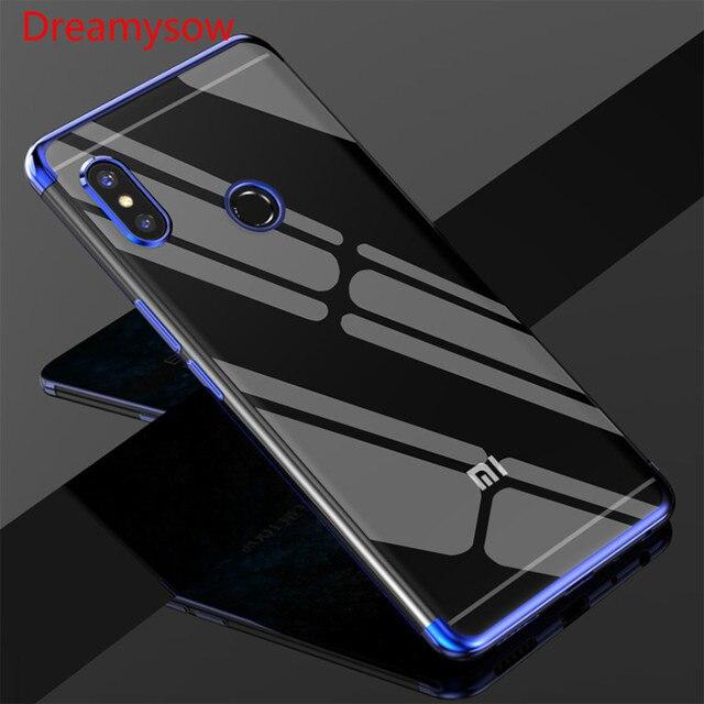3 en 1 caso para Redmi Nota 7 De Lujo funda de silicona suave para Redmi 6 5 6A 5A pro para Mi8 lite 8 SE teléfono móvil F1 casos teléfono Coque