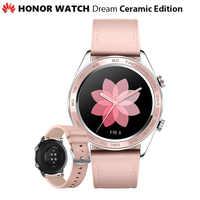 Оригинальные часы Huawei Honor Dream Ceramic Ver, уличные Смарт-часы с элегантным тонким длинным аккумулятором, GPS, научным тренером Amoled