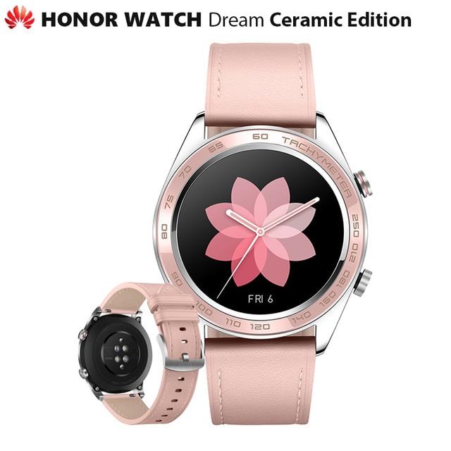Originele Huawei Honor Horloge Dream Keramische Ver Outdoor Smart Horloge Slanke Slanke Lange Batterij Gps Wetenschappelijke Coach Amoled