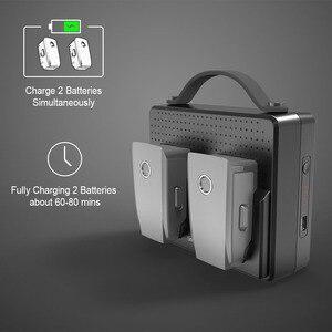 Image 3 - Smatree, baterías portátiles para DJI Mavic 2 Pro, estación de carga Compatible con carga simultánea de dos Mavic 2 Zoom