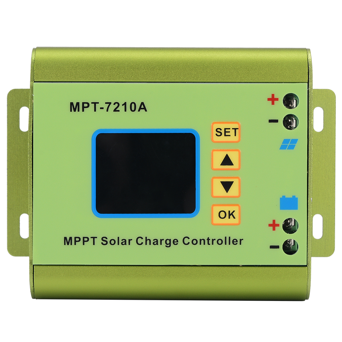 MPPT Solar Panel Charge Controller With LCD Display 24/36/48/60/72V 10A Boost Charge FunctionMPPT Solar Panel Charge Controller With LCD Display 24/36/48/60/72V 10A Boost Charge Function