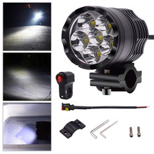 Universal LED Motorcycle Headlight Bulb Motorbike Waterproof Fog Spot 7800 LM 6000-6500K 7800LM Motorcycle LED Headlight(China)