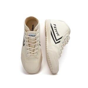 Image 5 - Davufeiyue جديد حذاء قماش غير رسمي بيج الرياضة المسار أحذية رياضية الرجال النساء غير رسمية مريحة عدم الانزلاق دائم الأحذية 921