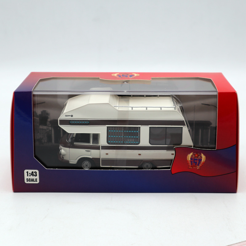 IXO IST 1:43 Barkas B1000 Wohnmobil 1973 White IST297MR  Diecast Models Limited Edition Collection Toys Car