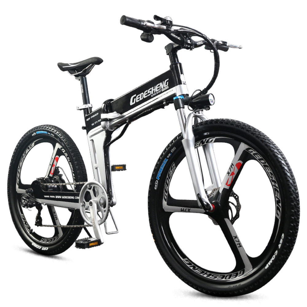 26 48 V Lithium Battery Electric Bicycle Mtb Hidden 500 W High Speed Motor Abs Brake Folding Electric Bike Mountain in Electric Bicycle from Sports Entertainment