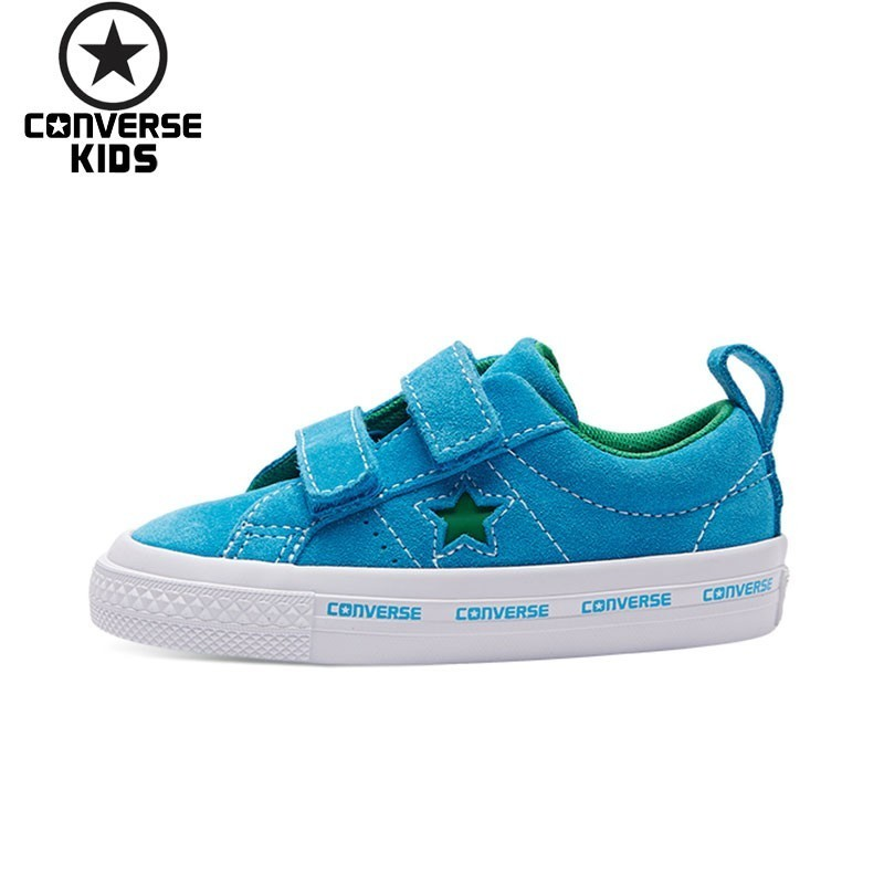 CONVERSE Children's Shoes One Star Male Baby Search Fur Magic Subsidies Leisure Time Sneakers #760037C S