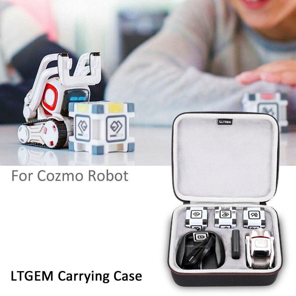 Чехол LTGEM для путешествий с жестким хранилищем, для Anki Cozmo или Cozmo, модель робота-черного цвета