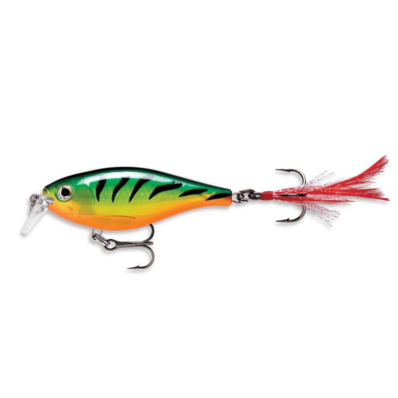 Image 4 - 9cm/13g Artificial Bait Fishing Lure  Wobbler Surface Dog Walking Pencil With Feather Hook Crankbait Lead Jigs Fishing Lures-in Fishing Lures from Sports & Entertainment