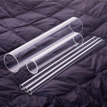 High borosilicate glass tube,O.D. 55mm,Thickness 4.5mm,L. 500mm/750mm/1000mm,High temperature resistant glass tube