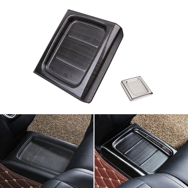 Car Styling Rear Armrest Box Seat Storage Protection Cover Trim For <font><b>Mercedes</b></font> Benz E Class W213 E200l 300l 2016 2017 2018 image