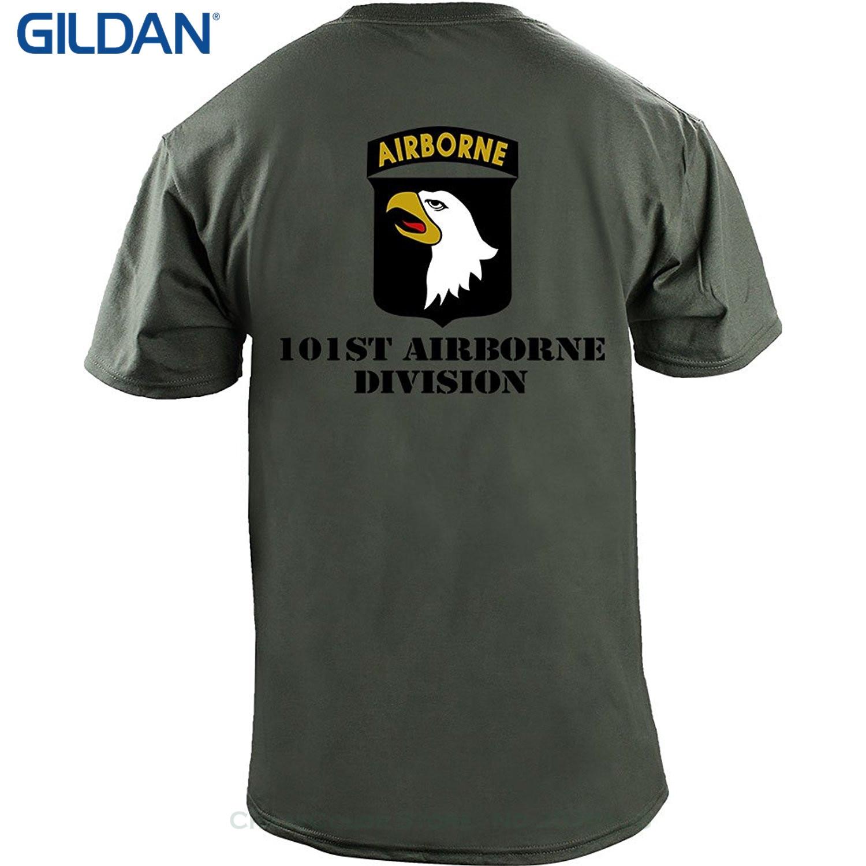 Army 101st Airborne Vintage 7.62 Design BATTLESPACE tee-shirt Homme