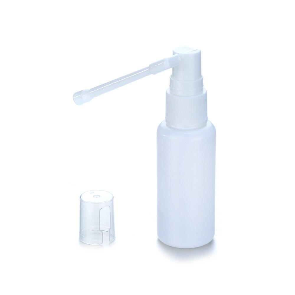 1/2/6Pcs 30ml Plastic Nasal Throat Spray Bottle 360 Degrees Rotating Bar Perfume Makeup Atomizer Spray Bottle Air Travel Tools