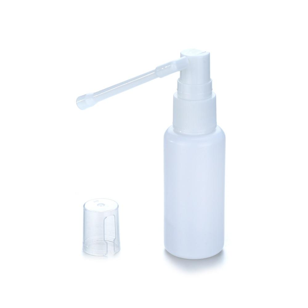 Universal 1/2/6PCS 30ml Plastic Nasal Throat Fine Mist Spray Bottle Pump Sprayer 360 Degrees Rotating Bar Nozzle Bottle