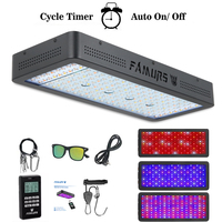 led grow light remote control 1000W/1200W/1500W/2000W/3000W Full Spectrum Timer Veg/Bloom for indoor plants grow tent fitolamp
