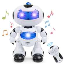 RC Dance Robot Intelligent Programming Remote Control Robotica Toy Humanoid Robot For Children Kids Birthday Gift Present(China)