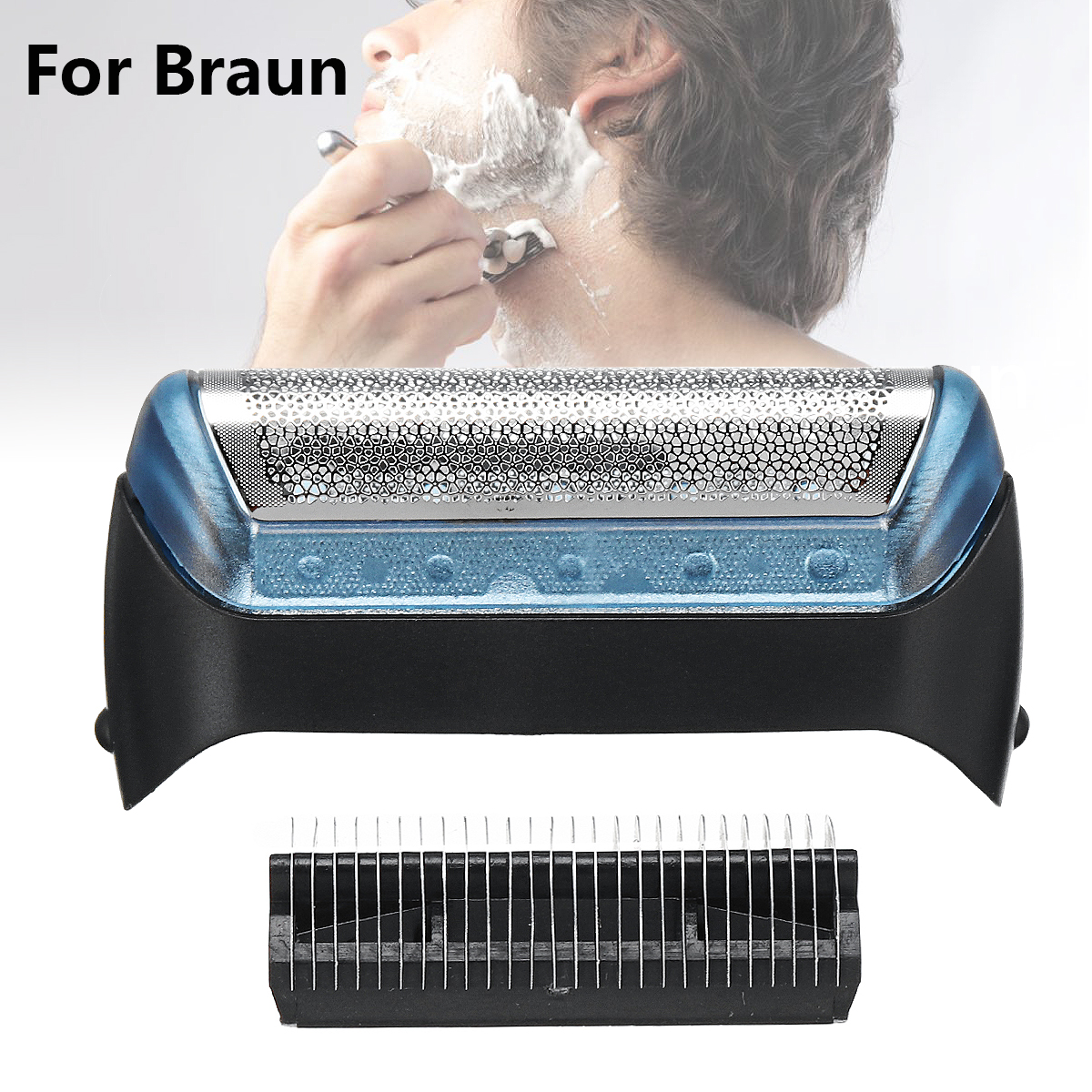 Shaver Foil Blade Replacement For BRAUN 10B 20B 20S Personal Care Parts 2 Choice Cutter Blade Shaver Replacement Foil Best Price