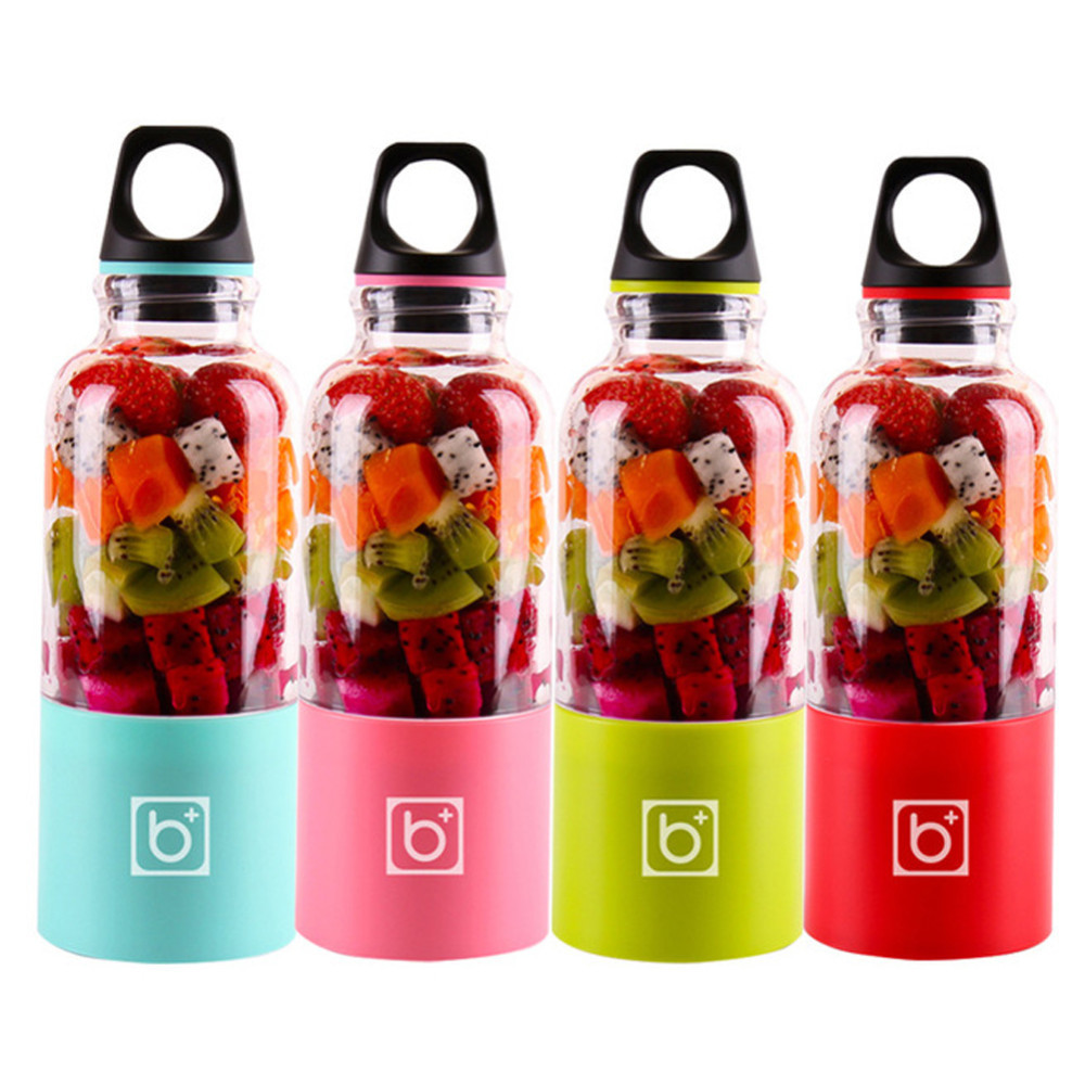 500ml Electric Juicer Cup Mini Portable USB Rechargeable Vegetables Blender Maker Shaker Squeezers Fruit Orange Juice Extractor500ml Electric Juicer Cup Mini Portable USB Rechargeable Vegetables Blender Maker Shaker Squeezers Fruit Orange Juice Extractor