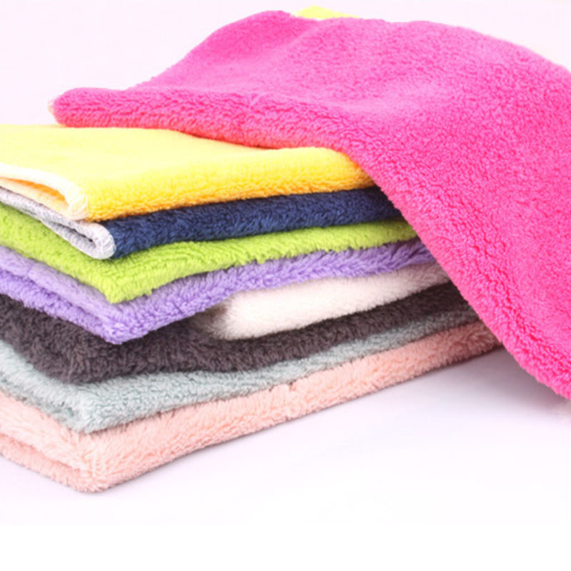 WHISM 3PCS Soft Cleaning Cloth for Dish Pans Wear-resistant Wiping Rags Household Kitchen Towels Washing Cloth Table Car Shoes