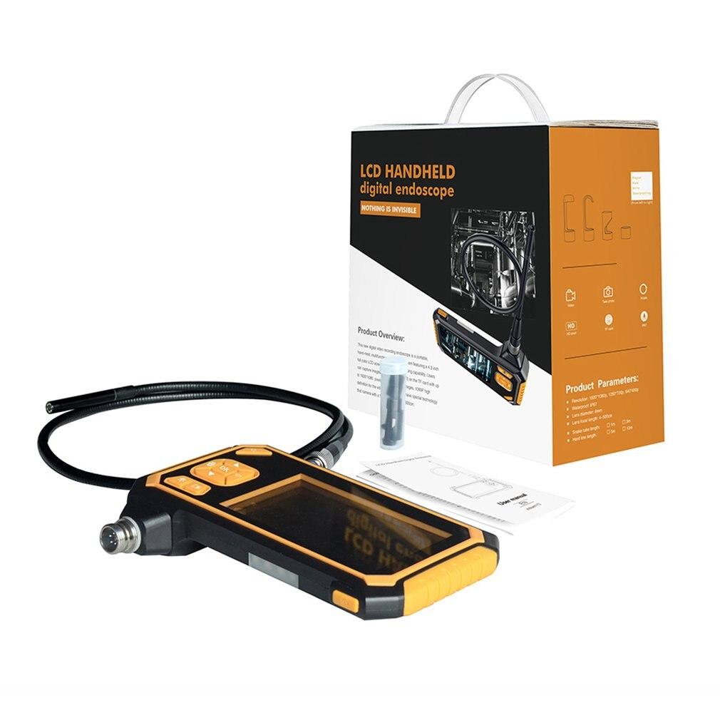 Sporting Digitale 1080 P Lcd 8mm Snake Scope Endoskop Inskam112 Wasserdichte Sonde Inspektion Hd Kamera Handheld Boroskop 5 M Starren Kabel Exquisite In Verarbeitung