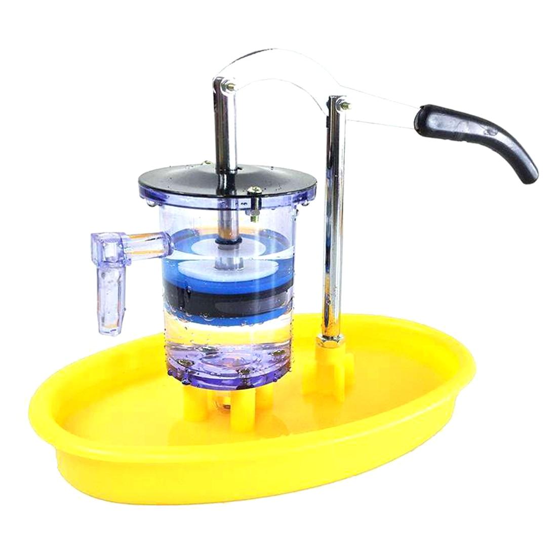 Pompe à eau à Piston modèle de pompe à pompe pression de l'eau bien mécanique physique modèle jouet appareil d'enseignement Science jouets physique