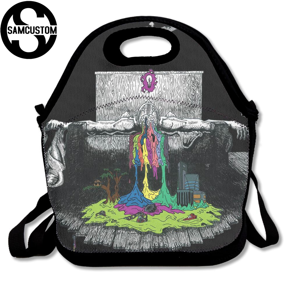 SAMCUSTOM twenty one pilots combination Lunch Bags Insulated Waterproof Food Girl Packages men and women Kids Baby Boys Handbags