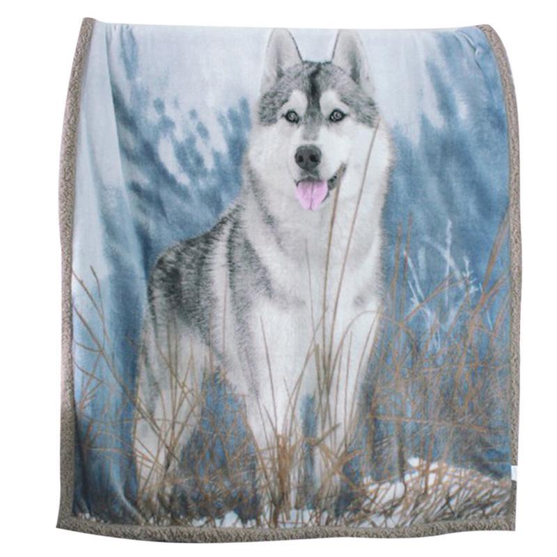 Adult Feece Blanket Flannel berber Fleece Blanket Comfort Warm Soft Cozy Air Wolf Pattern Fleece Blanket Blankets for BedsAdult Feece Blanket Flannel berber Fleece Blanket Comfort Warm Soft Cozy Air Wolf Pattern Fleece Blanket Blankets for Beds