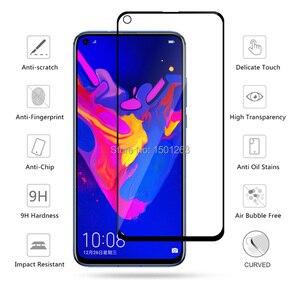 Image 2 - 9 H מלא כיסוי מזג זכוכית עבור Huawei Honor 8A 8C 8X 7A פרו 7C 10 10i ולהציג מחזה 20 P חכם Y7 Y6 2019 מסך מגן זכוכית