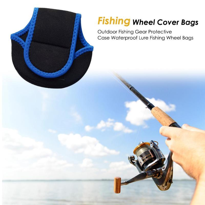 Symbol Of The Brand Baitcasting Fishing Case Waterproof Outdoor Baitcasting Fishing Gear Protective Case Lure Fishing Wheel Pouch Cover Bags