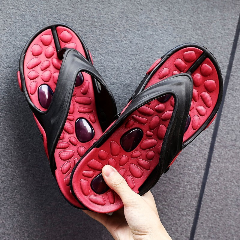 Male Beach Slippers Flip Flop High Quality Zapato -9045