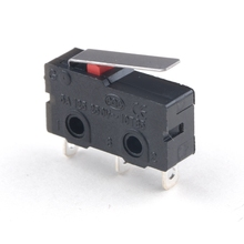 цена на 3D printer parts 10pcs/lot micro Limit Switch 3 Pin N/O N/C High quality All New 5A 250VAC KW11-3Z Micro Switch
