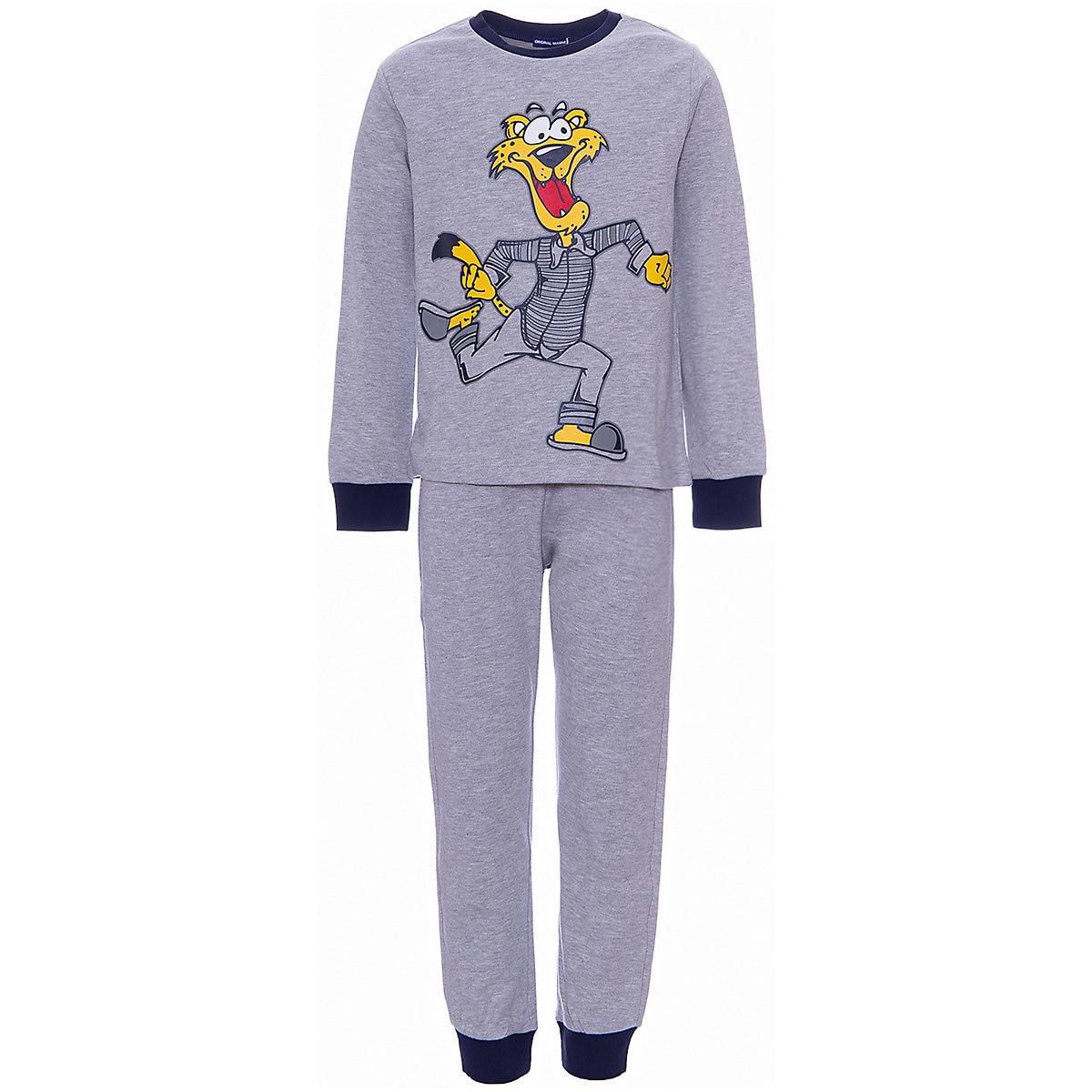 ORIGINAL MARINES Pajama Sets 9501035 Cotton Boys childrens clothing Sleepwear Robe parrot print cami pajama set with robe