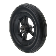 10» Front Castor Wheels Wheelchair Wheel Replacement Wheelchair Parts Tool Silence Wear-resistant