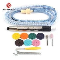 17 × 140mm powietrza zestaw do mielenia szlifowania Pen wysoka precyzja wysoki pneumatyczne maszyna do mielenia długopis do przycinania szlifowanie grawerowanie