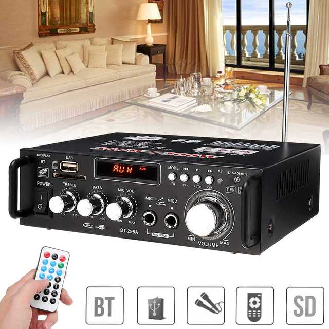 600w Bluetooth Audio Amplifier 3