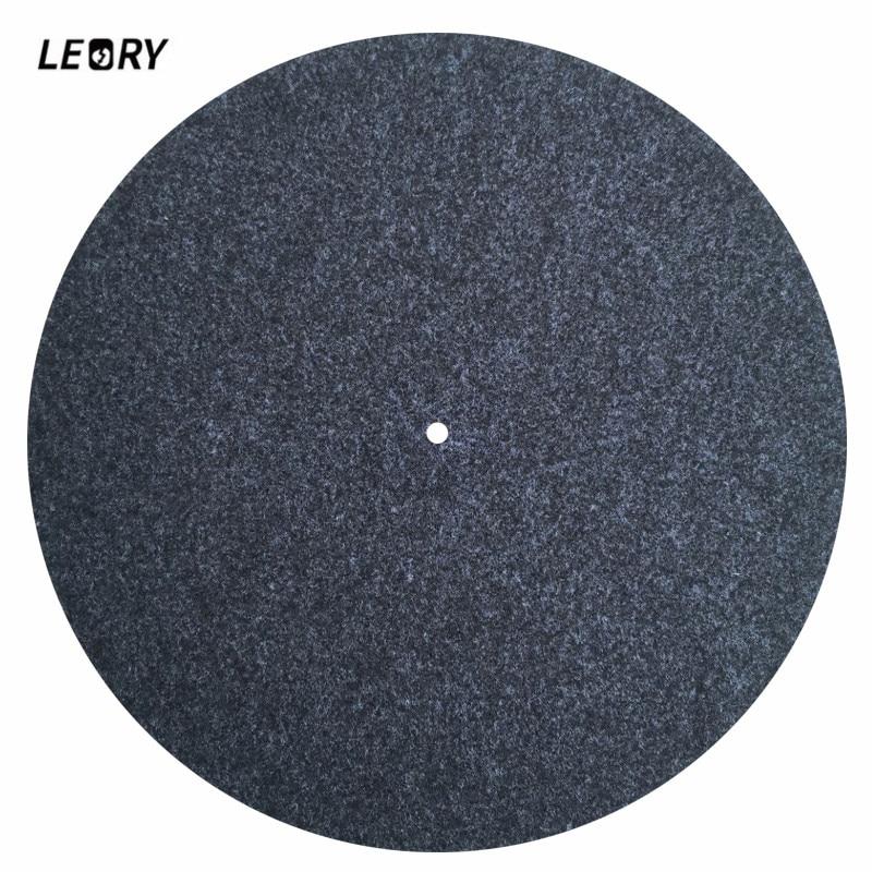 Sanft Leory 3mm Filz Plattenspieler Platter Slip Matte Audiophile Wolle Aufnahme Pad Anti-statische Für Lp Vinyl Plattenspieler-player Unterhaltungselektronik