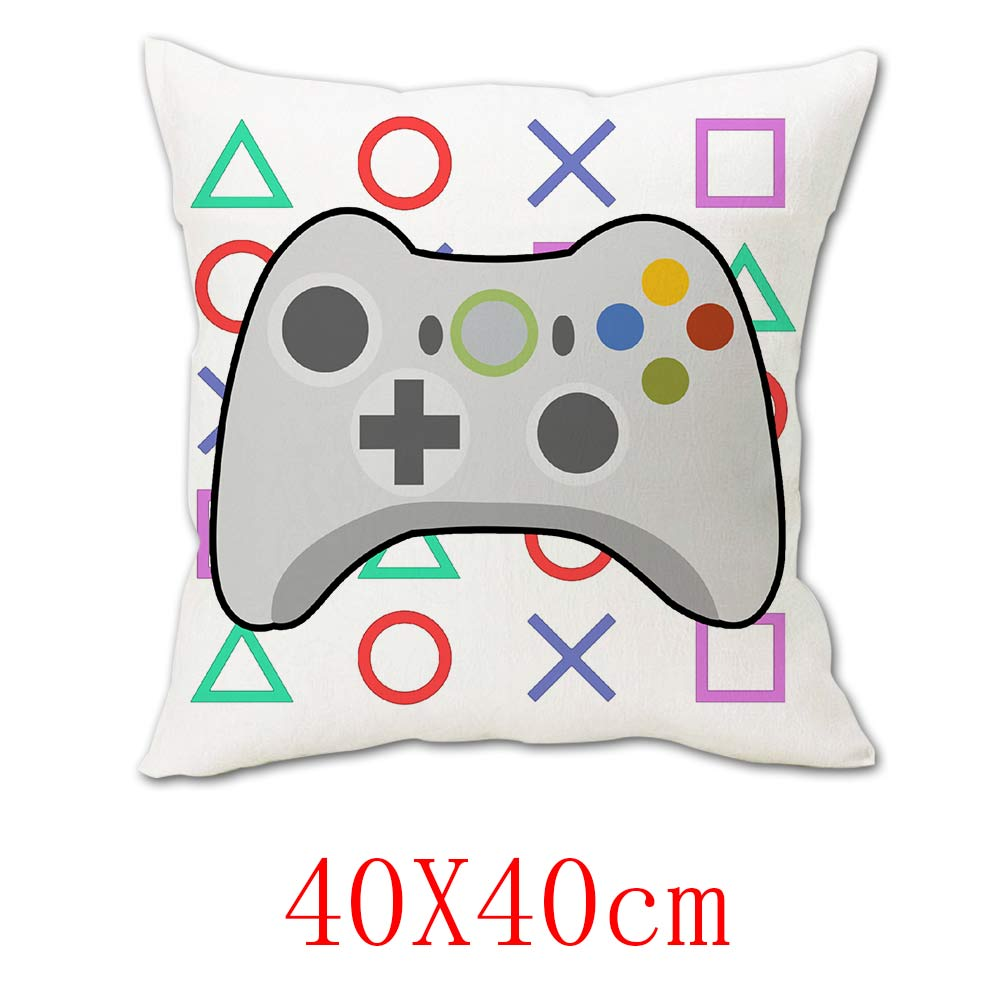 OHCOMICS 40*40CM Otaku Game PS4 Playstation 4 Zipper Cushion Cover Pillow Case Square Dakimakura Slip Tick Home Hugging Body