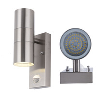 pir sensor wall lamp decorative modern led light inductor building lighting