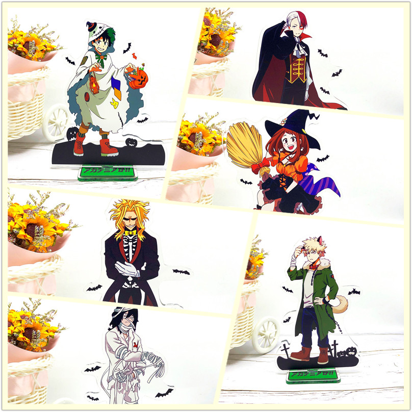 My Hero Academia Anime Eijiro SHOTO All Might Aizawa Halloween Acrylic Stands