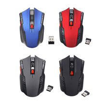 Professional 2.4GHz Wireless Optical Gaming Mouse Wireless Mice for PC Gaming Laptops