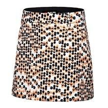 Pgm Golf Женская юбка летняя юбка для гольфа дышащая и быстросохнущая юбка с принтом