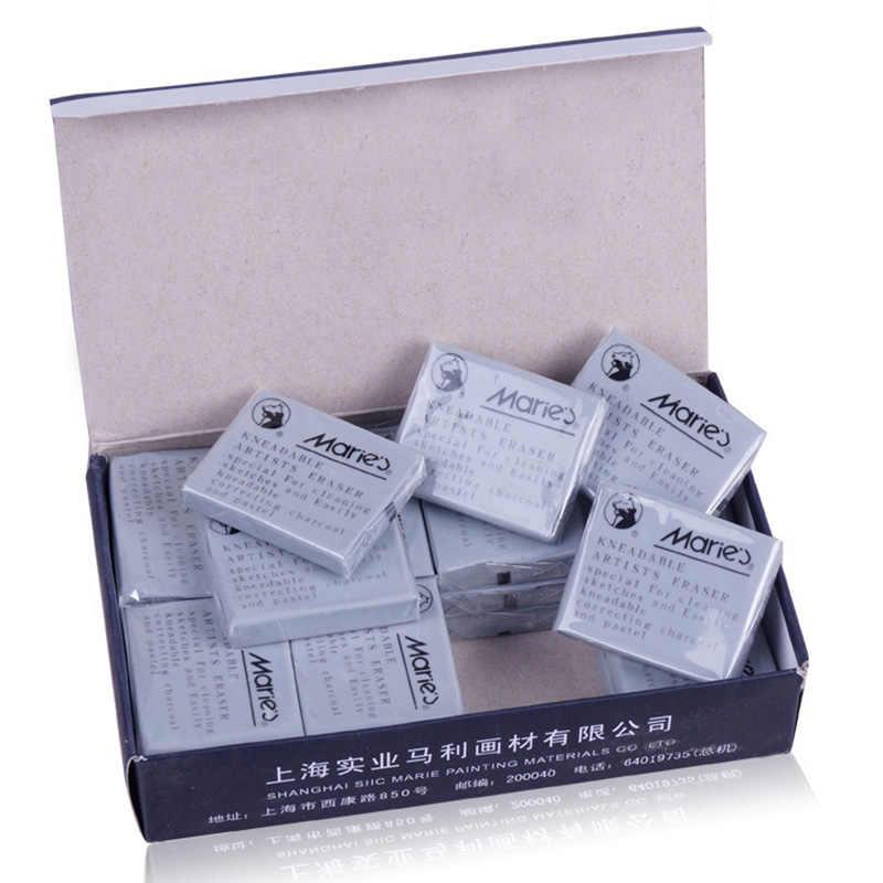 1 unidad de bocetos profesionales borradores especiales de goma gris suave para material escolar para bellas artes herramientas de corrección papelería