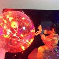Goku Kamehameha Lamp Led Lighting Dragon Ball Z Led Night Light Bulb Desk Lamp For Bedroom Christmas Gift