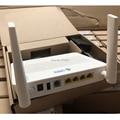 Freies verschiffen 100% original HUAWEI HS8546V5 GPON ONT ONU 4GE + 1TEL + 2USB + WIFI Englisch version optic netzwerk terminal 2,4G & 5G wifi
